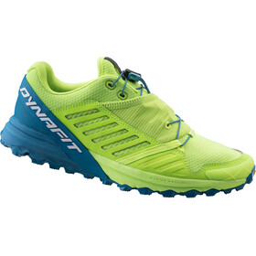 Dynafit Alpine Pro Shoes Men fluo yellow/mykonos blue